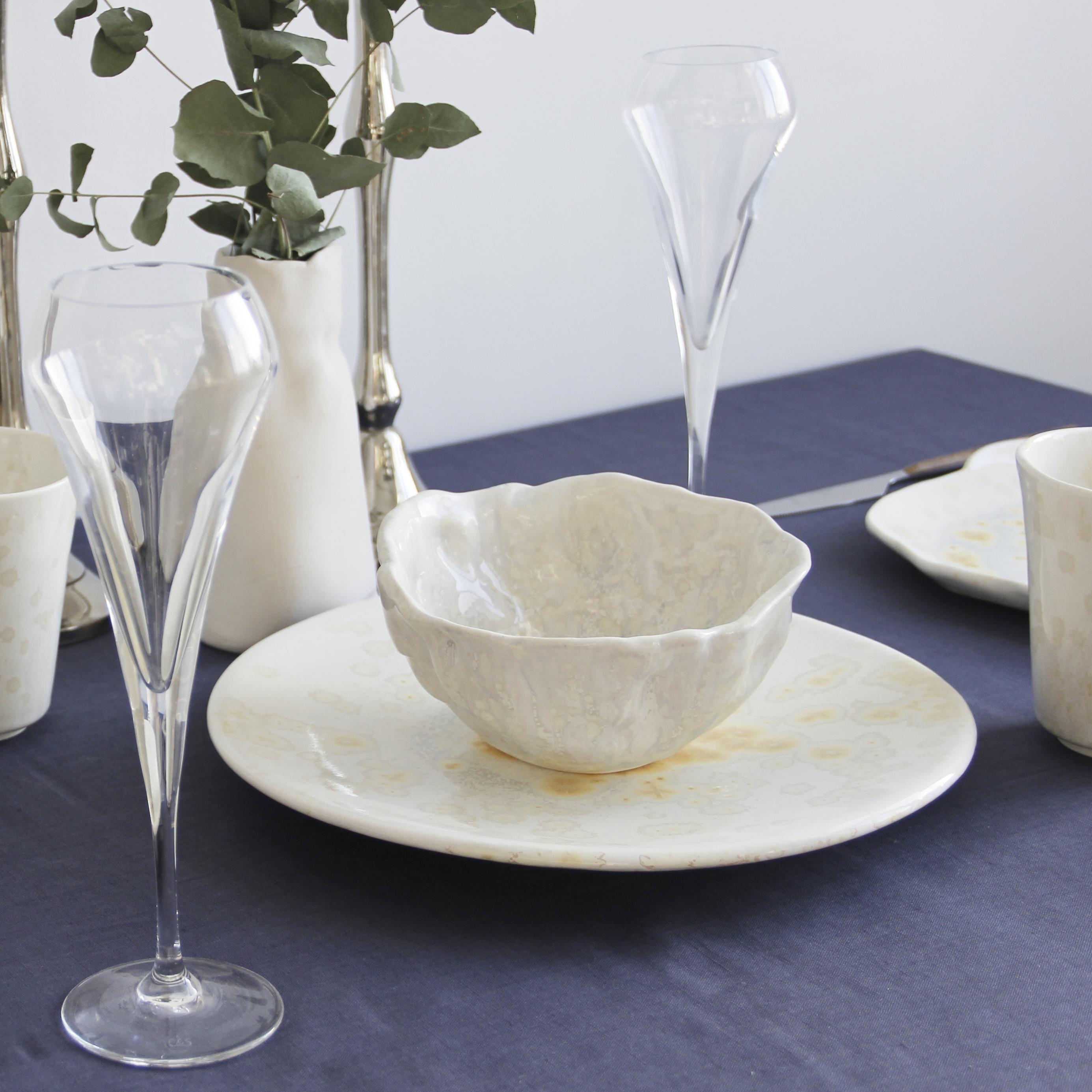 Фарфоровая посуда ручной работы OMA Ceramica