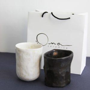 Набор стаканов в подарочной упаковке OMA Ceramica