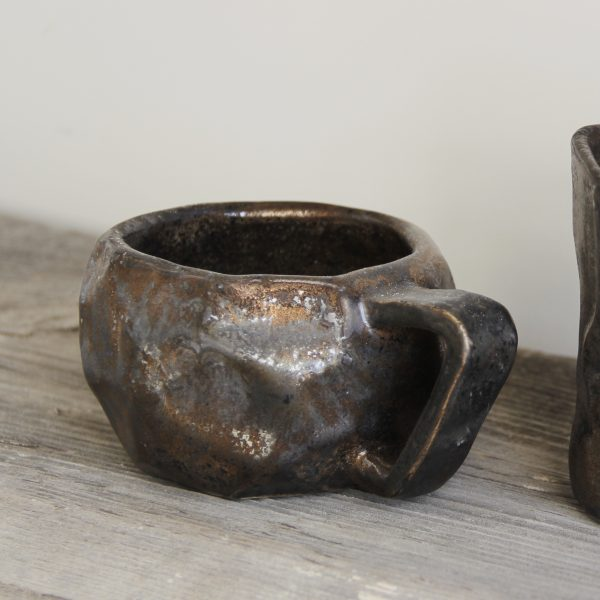 Фарфоровая чашка ручной работы OMA Ceramica
