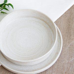 тарелка с высоким бортом